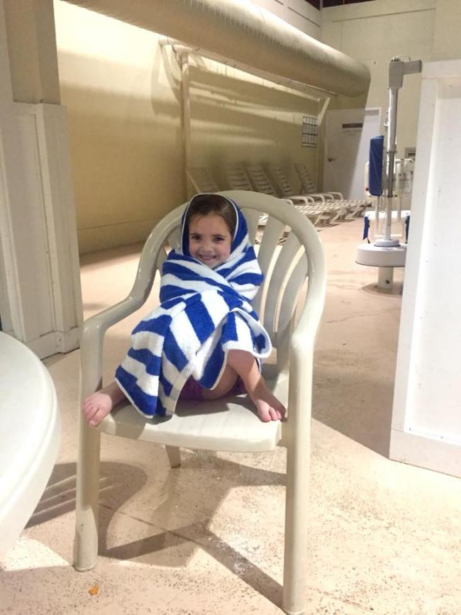 indoor pool at the Lodge at Shenandoah Crossing