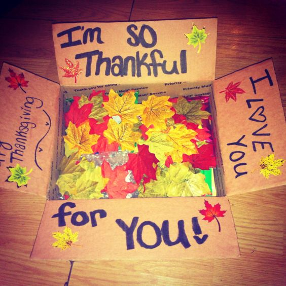 Thanksgiving Care Package Ideas: So Thankful For You