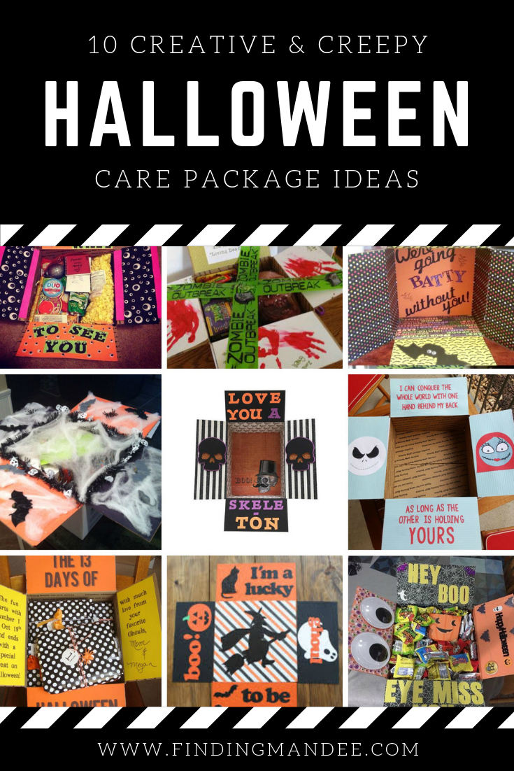 10 Creative and Creepy Halloween Care Packages