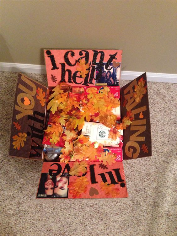 I Can't Help Falling in Love with You care package ideas.