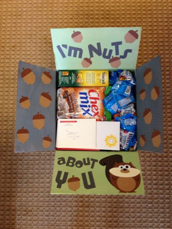 Monthly Care Package Ideas: February