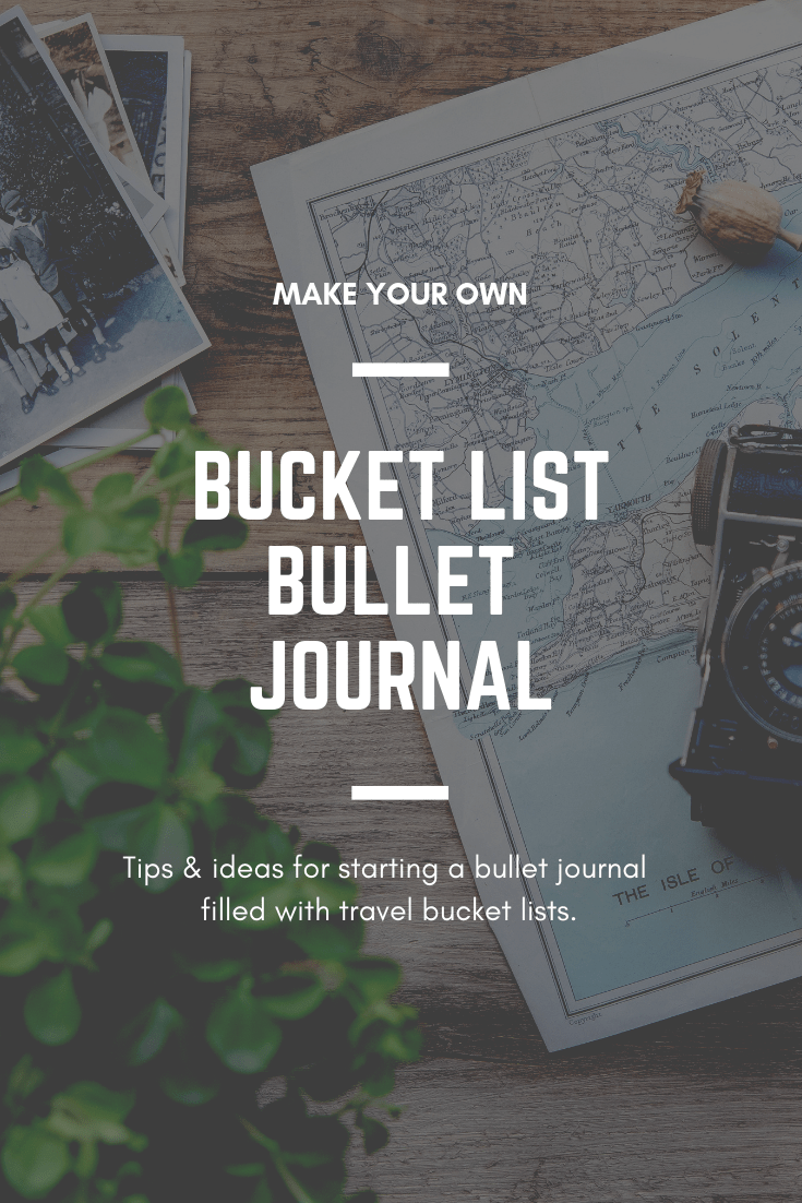 How to make your own travel journal out of a bullet journal.
