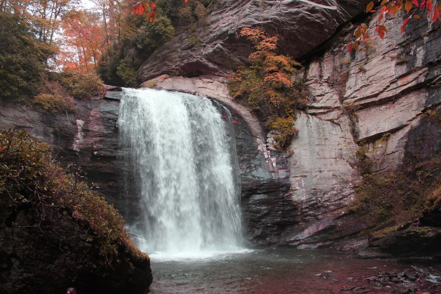 Asheville KOA East is close to the waterfalls in the Pisgah National Forest.