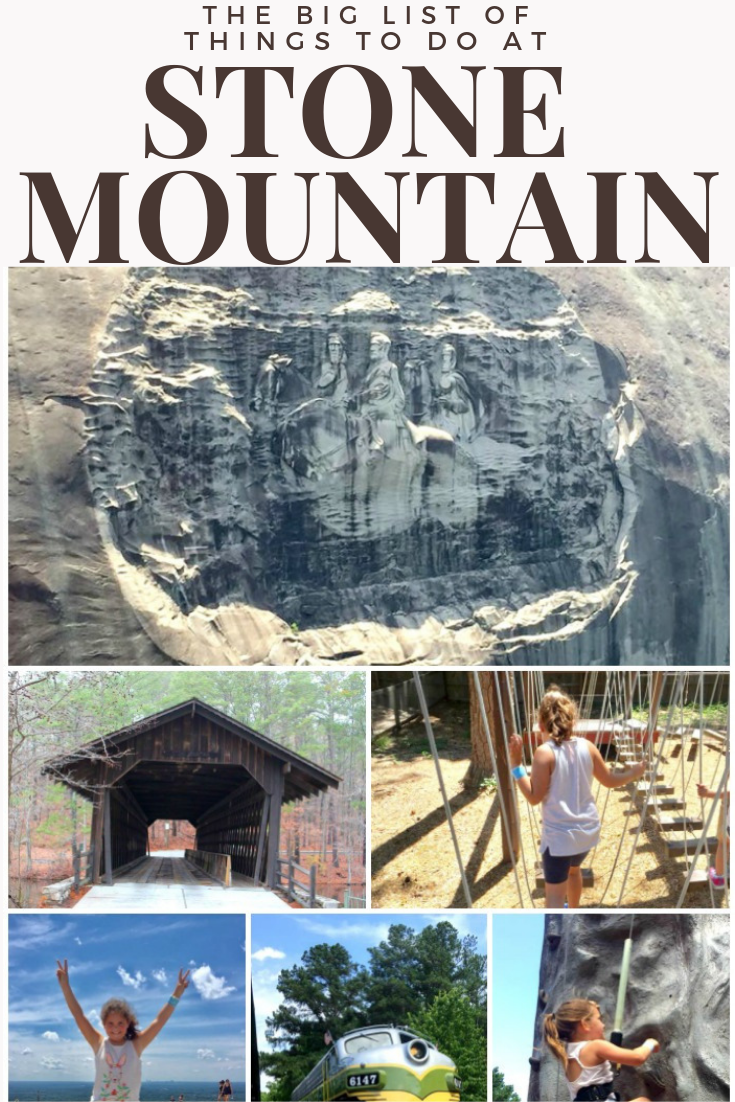 Free things to do at Stone Mountain, GA