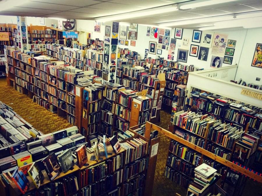 Recycled Books in Denton, Texas