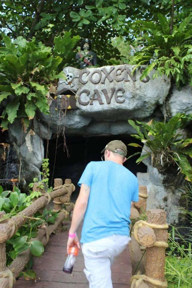 Visit Coxen's Cave at Gumbalimba Park in Roatan.