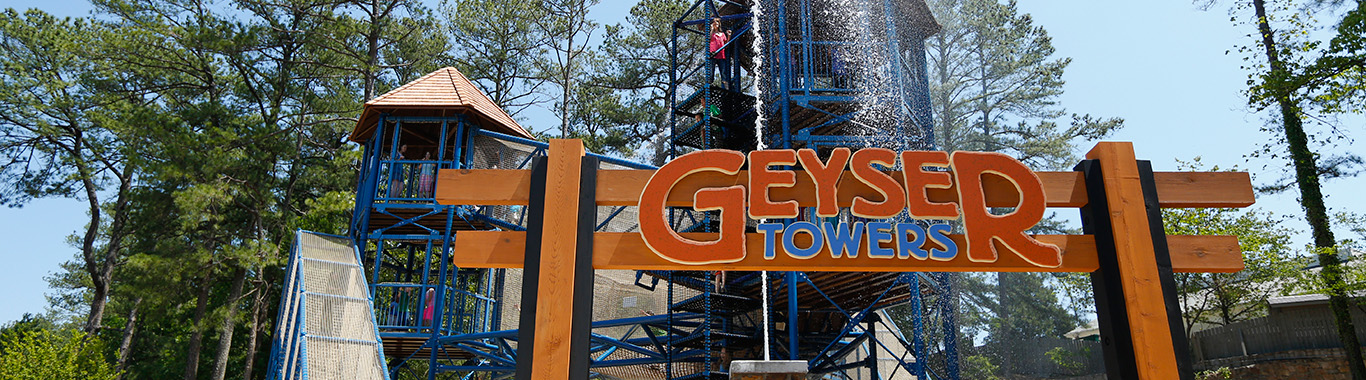 Geyser Towers at Stone Mountain