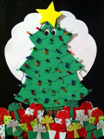 Turkey Disguise: Christmas Tree