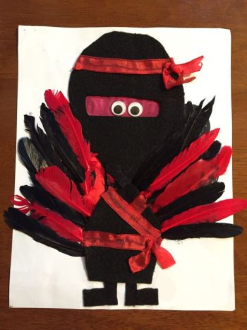 Turkey Disguise: Ninja