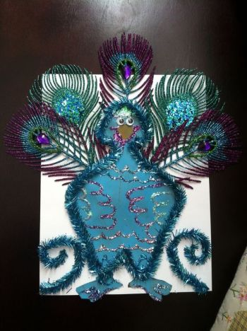Turkey Disguise: Peacock