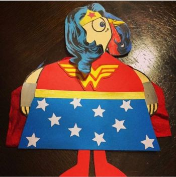 Turkey Disguise: Wonder Woman