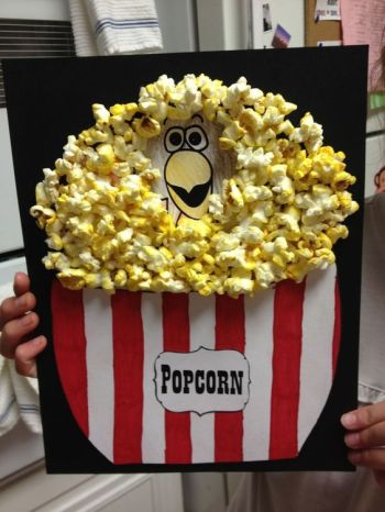 Turkey Disguises: Popcorn