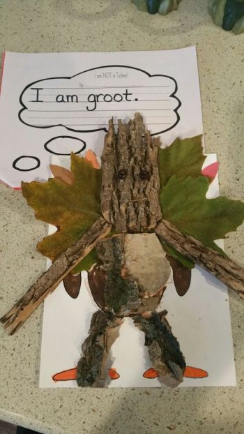 Turkey Disguise: Groot