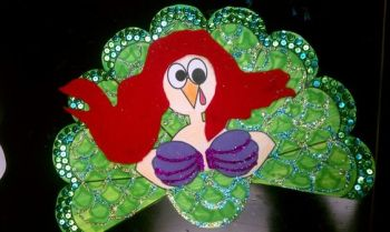 Turkey Disguise: The Little Mermaid