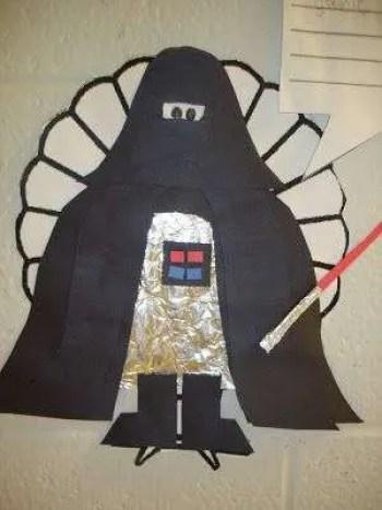 Turkey Diguise: Darth Vader