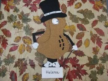 Turkey Disguise: Mr. Peanut