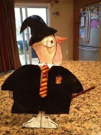 Turkey Disguise: Harry Potter