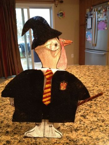 Turkey Disguise: Harry Potter