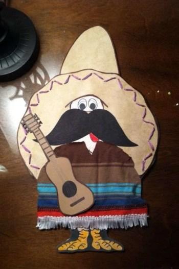 Turkey Disguises: Mustache & Sombrero