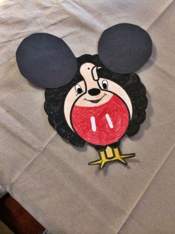 Turkey Disguise: Mickey Mouse