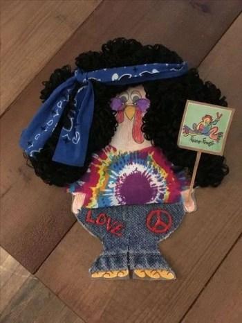 Turkey Disguise: Hippie