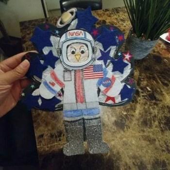 Turkey Disguise: Astronaut