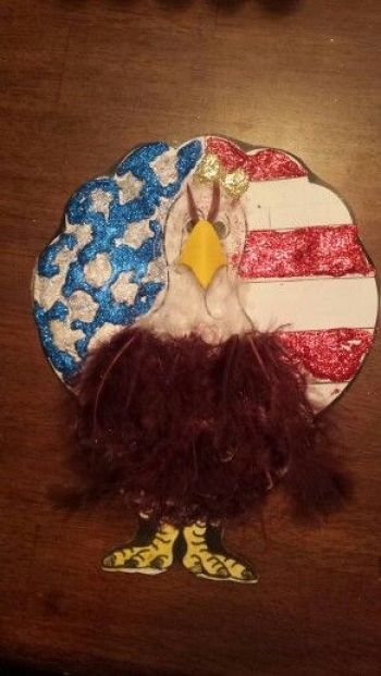 Turkey Disguise: American Eagle