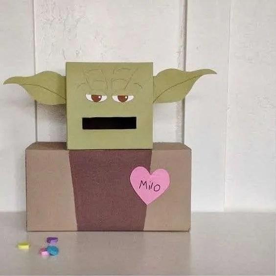 Yoda Valentine Box for your little Star Wars fan!