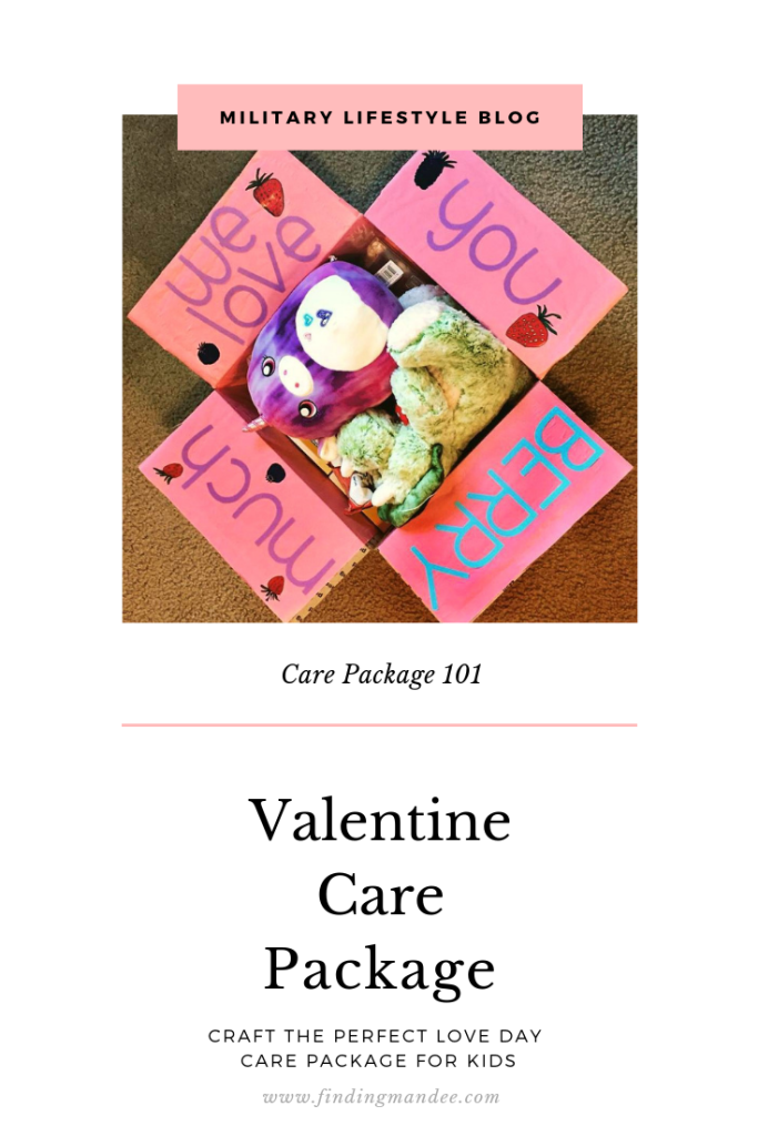 How to make a Valentine Care Package