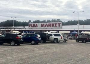 Bragg Boulevard Flea Market in Fayetteville, North Carolina.