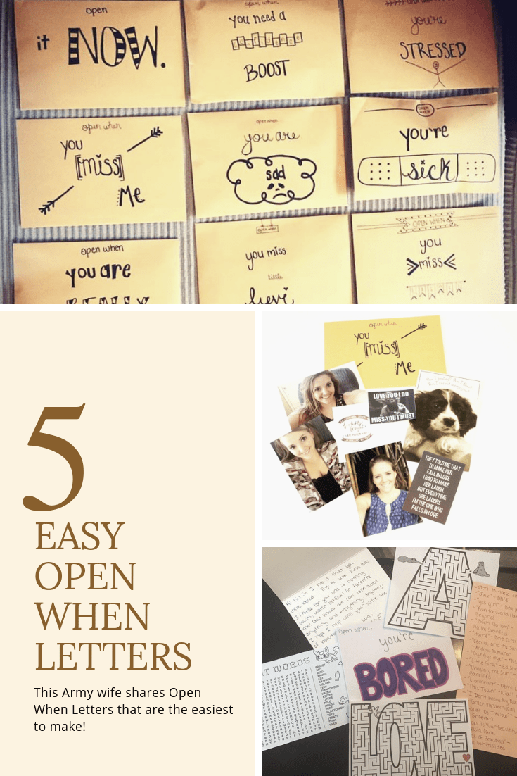 5 Easy Open When Letters with Examples! | Finding Mandee