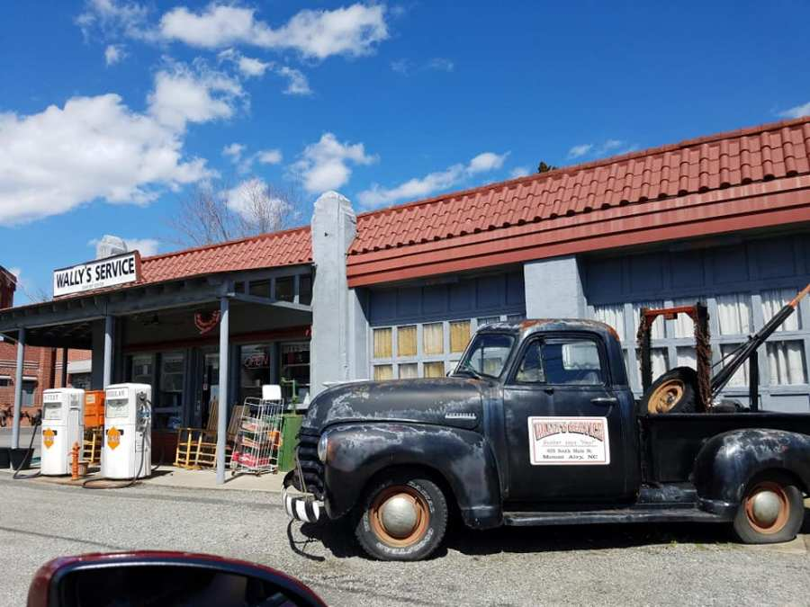 Wally's Service Station in Mayberry!