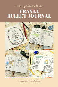 This bullet journal is where I keep track of my bucket lists and travel aspirations! | Finding Mandee