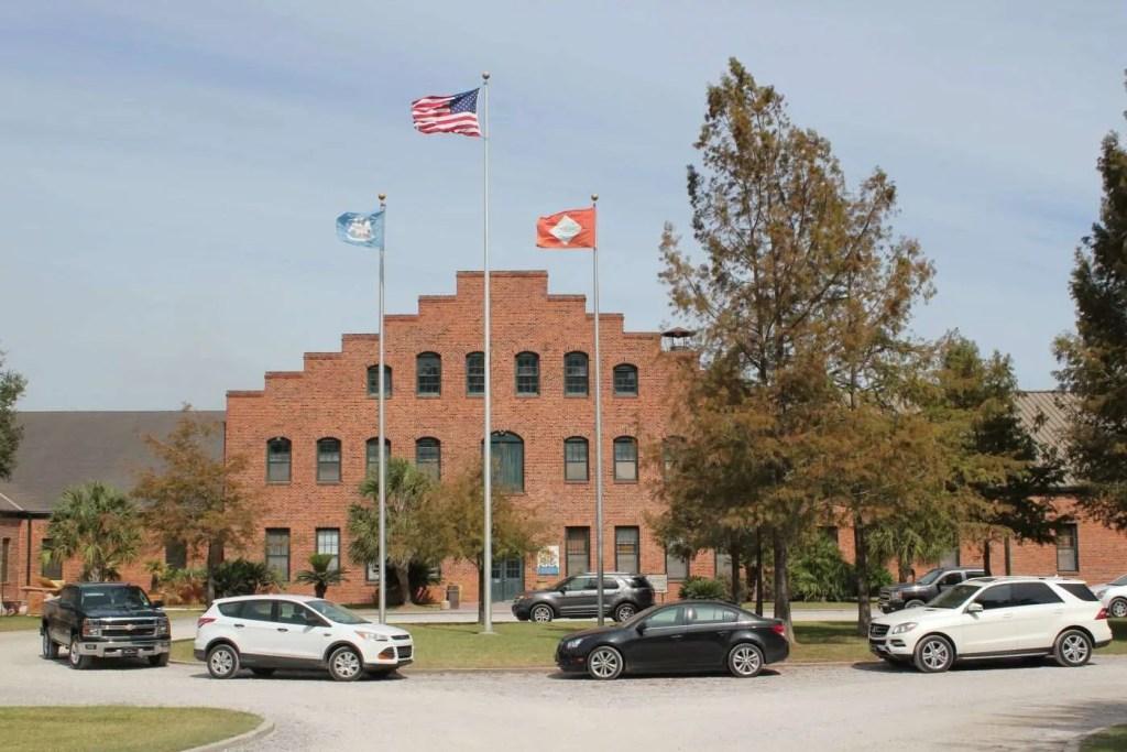The Tobasco Factory on Avery Island in Louisiana.