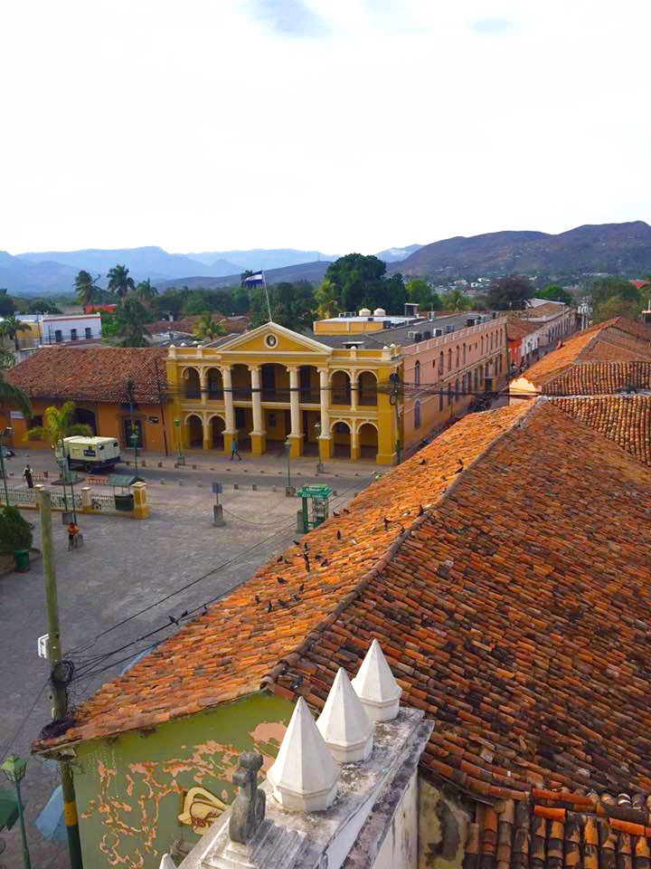The view of Comayagua from the belfry of the cathedral.