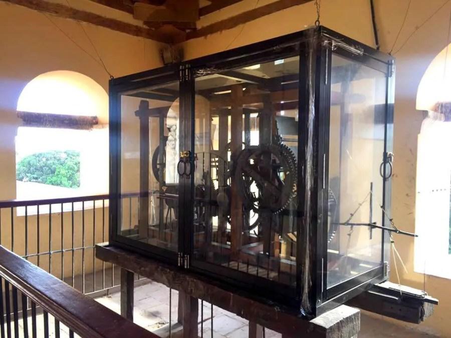 The oldest clock in the Americas in Honduras.