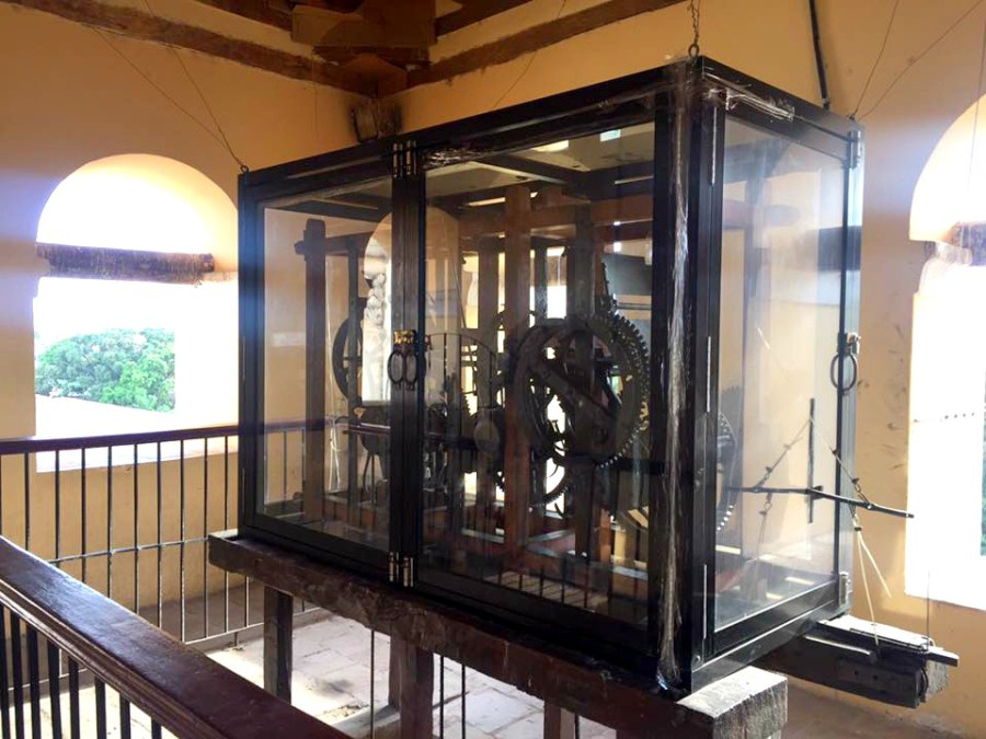 The oldest clock in the Americas in Honduras.