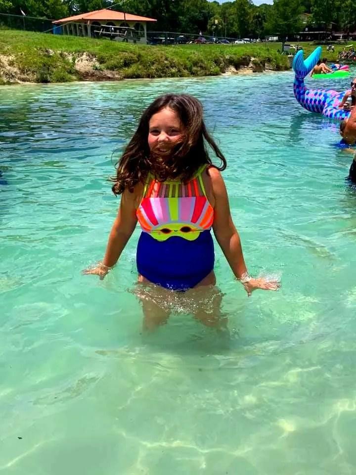 Swimming at Vortex Springs