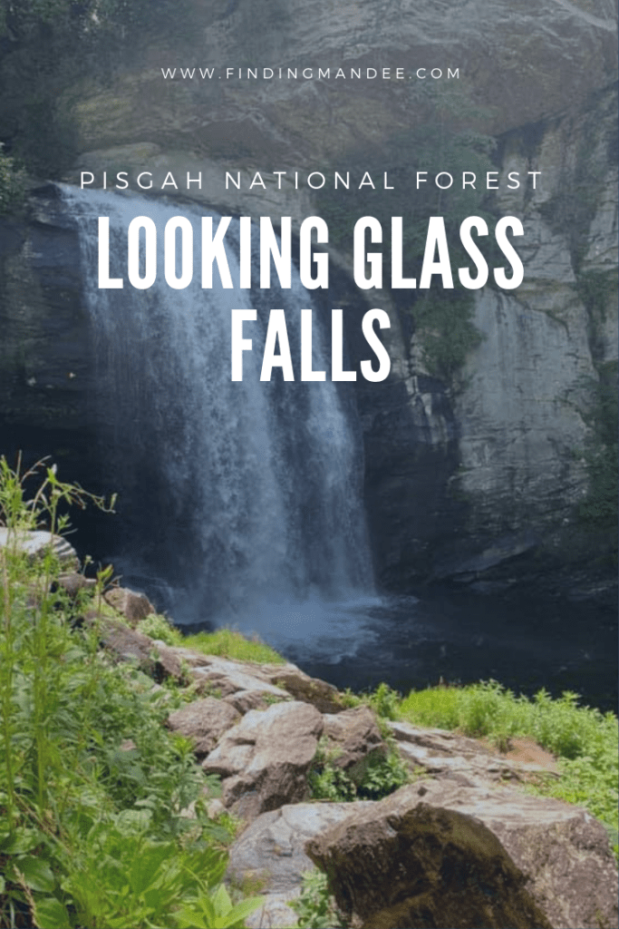 Pisgah National Forest's Looking Glass Falls   Finding Mandee