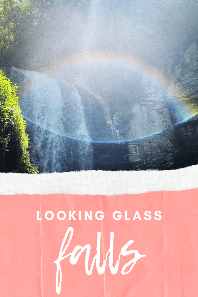 The most accessible waterfall near Asheville, North Carolina | Finding Mandee