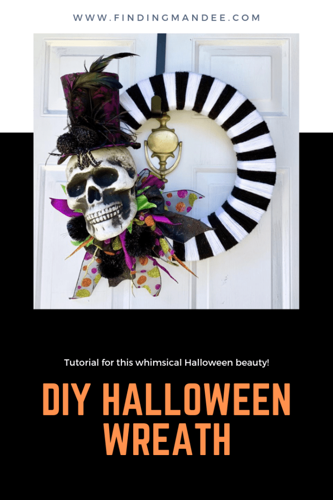 DIY Whimsical Halloween Wreath | Finding Mandee