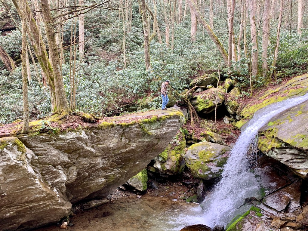 Things to do in Sugar Mountain: Take a hike to see Otter Falls.