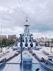We visited the USS North Carolina during COVID and had a blast!