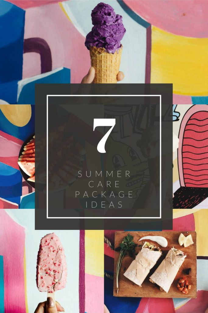 7 Summer Care Package Ideas | Finding Mandee