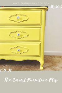 The Easiest Furniture Flip Yet | Finding Mandee