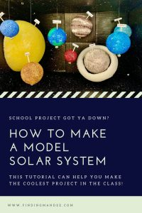 How to Make a Model Solar System School Project | Finding Mandee