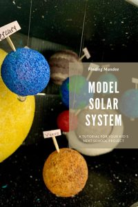 How to Make a 3-D Model Solar System for Kids | Finding Mandee