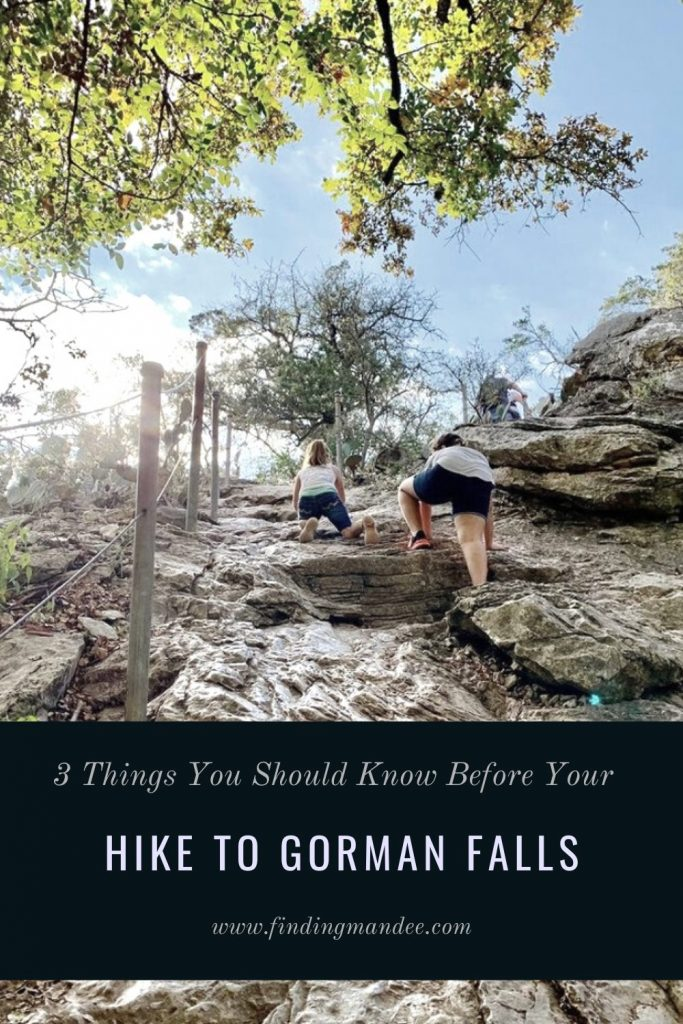 3 Things You Should Know Before Your Hike to Gorman Falls | Finding Mandee