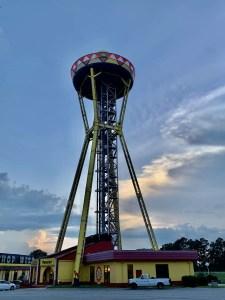 The sombrero tower.