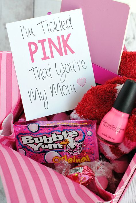 Mother's Day Care Package: I'm tickled pink that you're my mom.